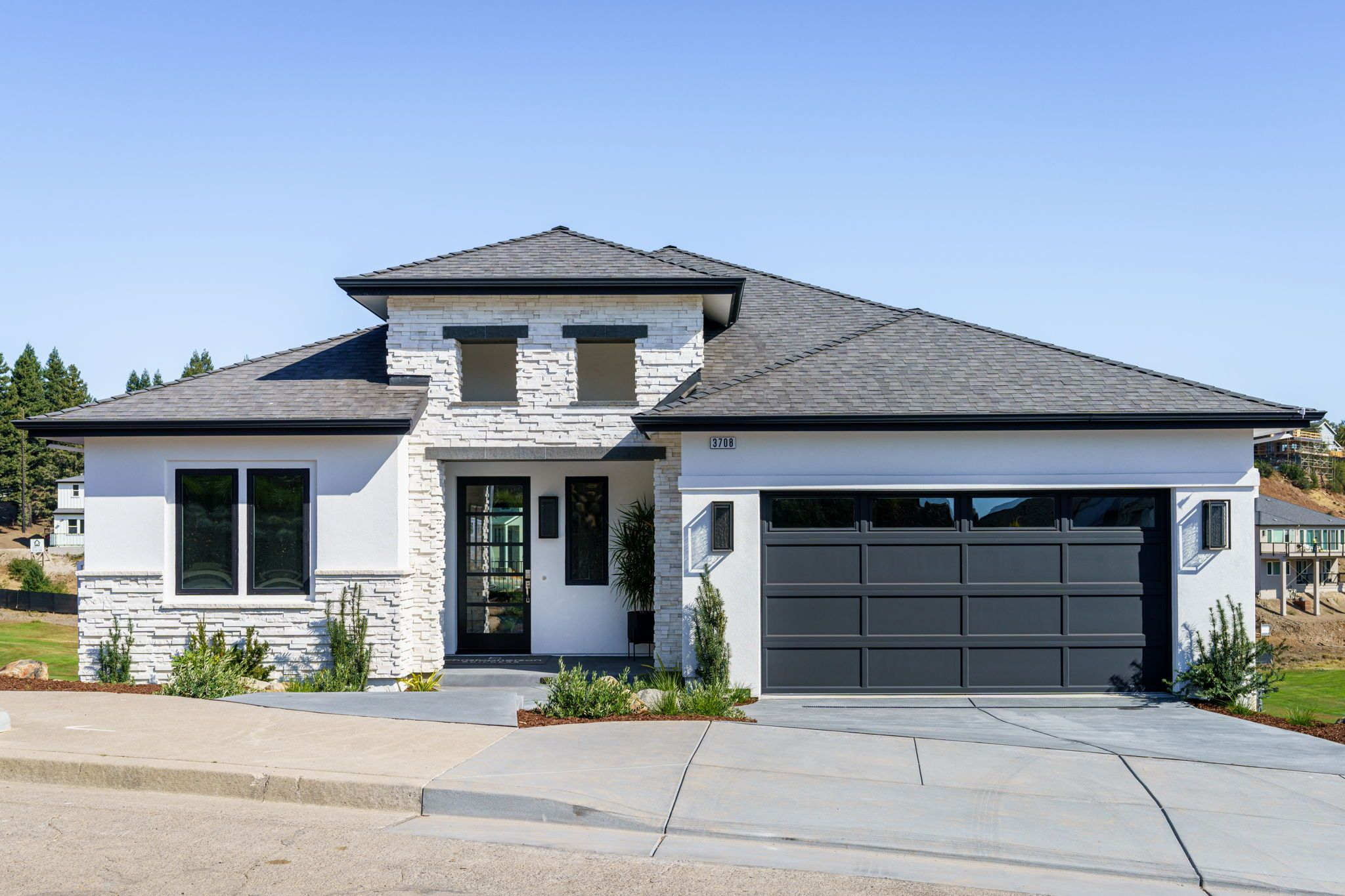 Exterior featured in the Plan 29X By Christopherson Builders in Santa Rosa, CA