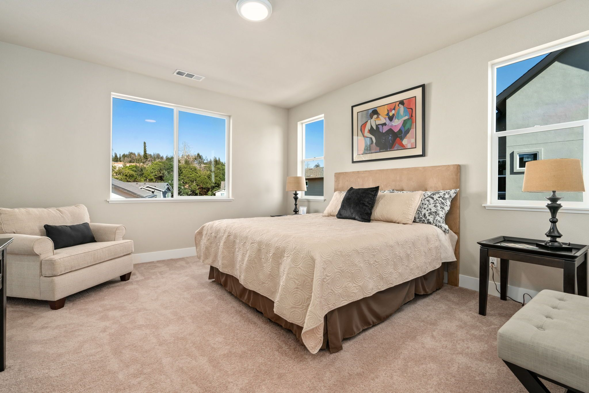 Bedroom featured in the Plan 32 By Christopherson Builders in Santa Rosa, CA