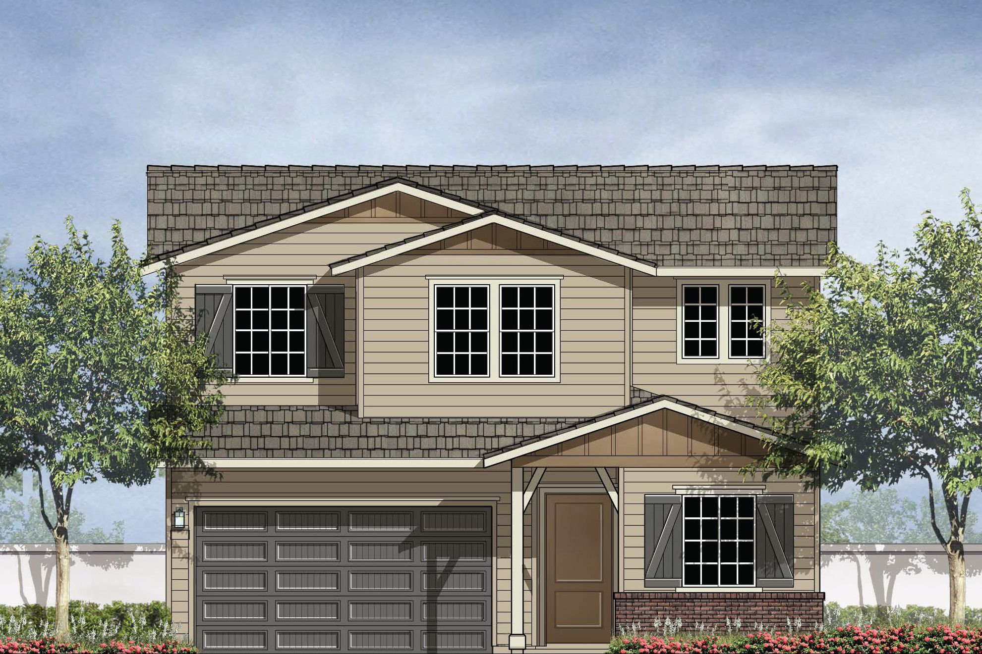 Exterior featured in the 32C By Christopherson Builders in Santa Rosa, CA