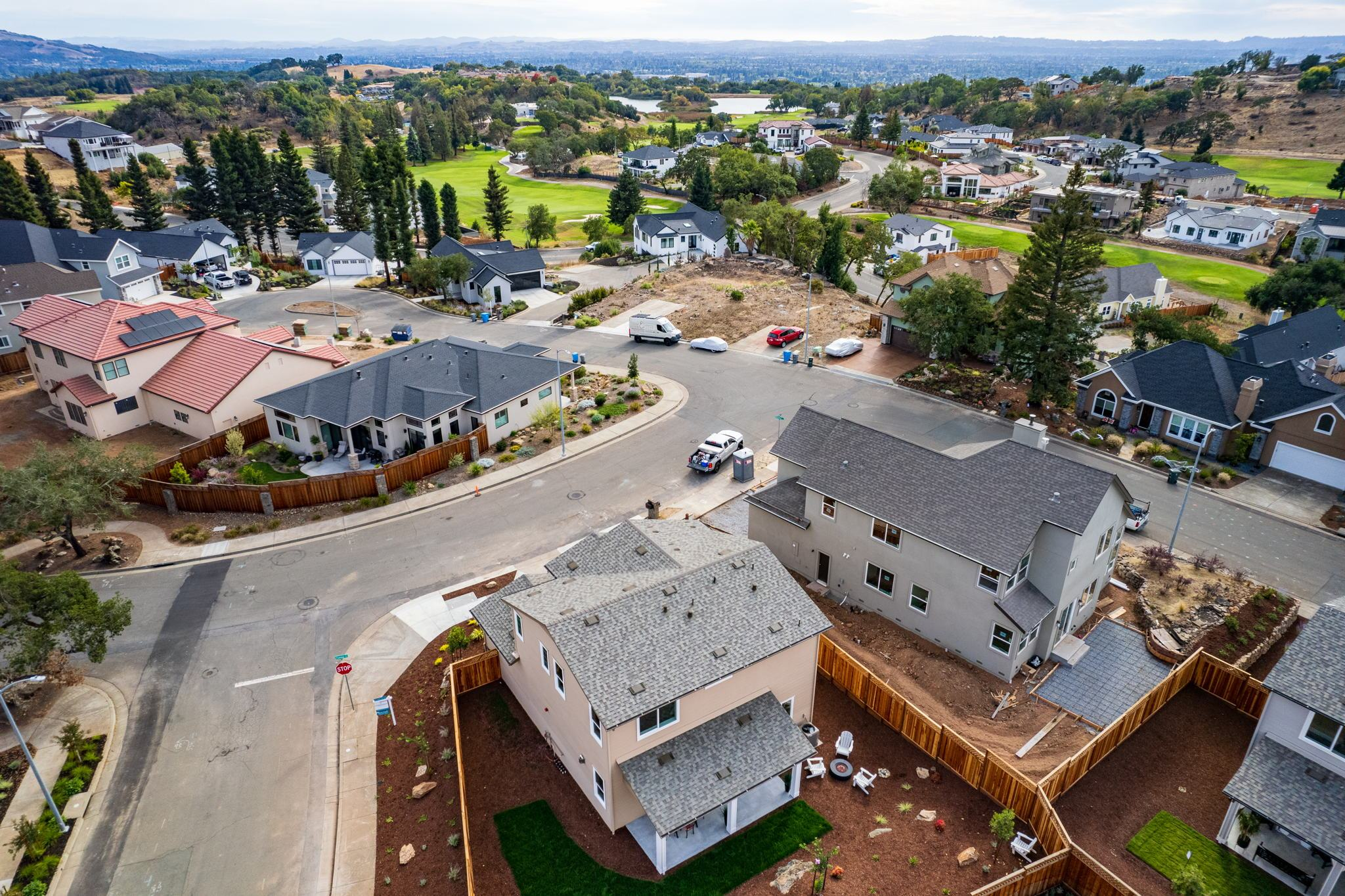 Exterior featured in the Plan 32X By Christopherson Builders in Santa Rosa, CA