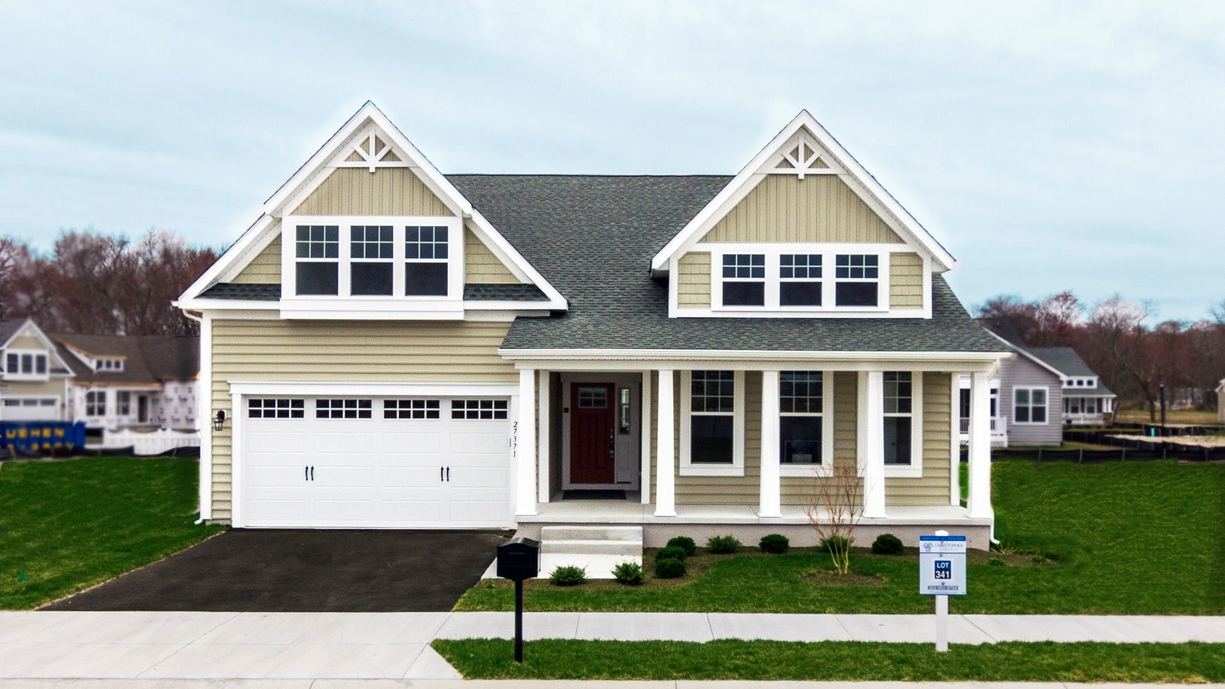 Millville By The Sea In De New Homes Floor Plans Christopher Companies