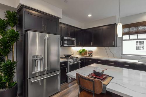 Kitchen-in-Plan 1-at-Classics at Lawrence Station-in-Sunnyvale