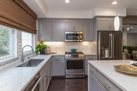 Kitchen-in-Plan 3-at-Classics at Lawrence Station-in-Sunnyvale