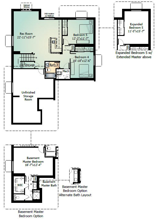 Savannah Plan At Banning Lewis Ranch 55 Age Restricted In Colorado Springs Co By Classic Homes