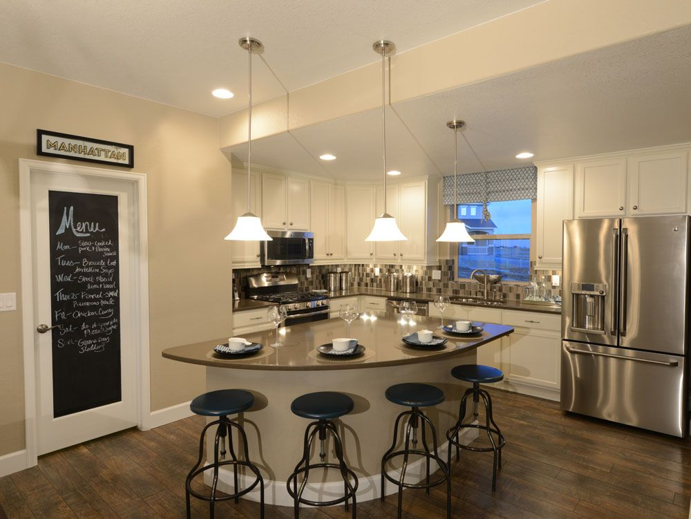 Kitchen featured in the Tranquility By Classic Homes in Colorado Springs, CO