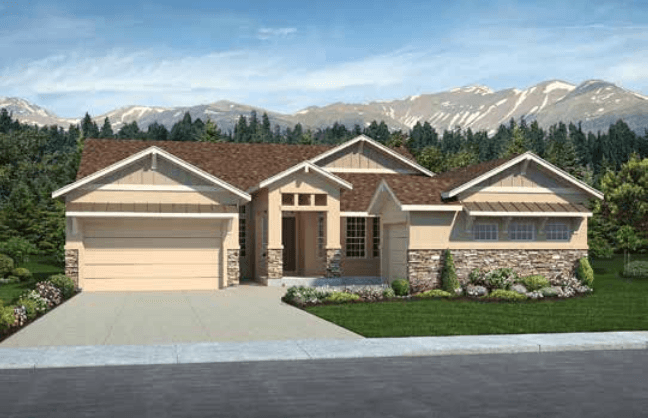 Exterior featured in the Infinity By Classic Homes in Colorado Springs, CO