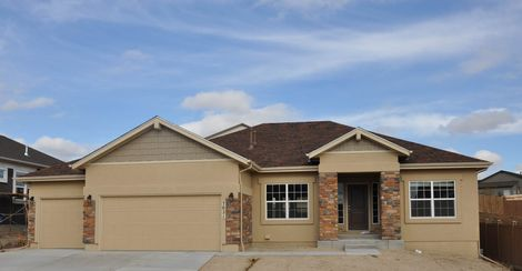 Indigo ranch at stetson ridge in colorado springs co new for Stetson homes floor plans