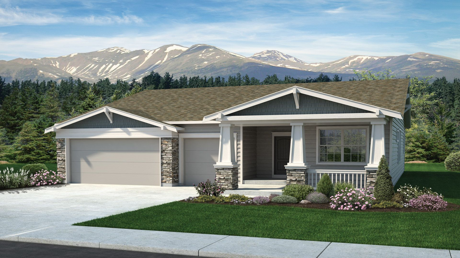 Exterior featured in the Paradise By Classic Homes in Colorado Springs, CO