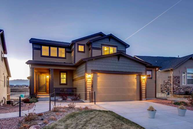 'Hannah Ridge' by Classic Homes in Colorado Springs