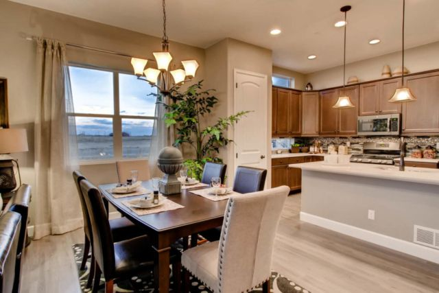 Kitchen featured in the Celebration By Classic Homes in Colorado Springs, CO