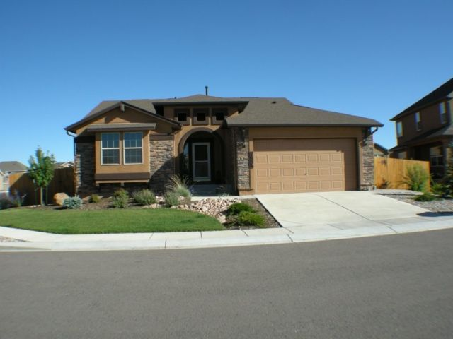 Exterior featured in the Hillspire By Classic Homes in Colorado Springs, CO
