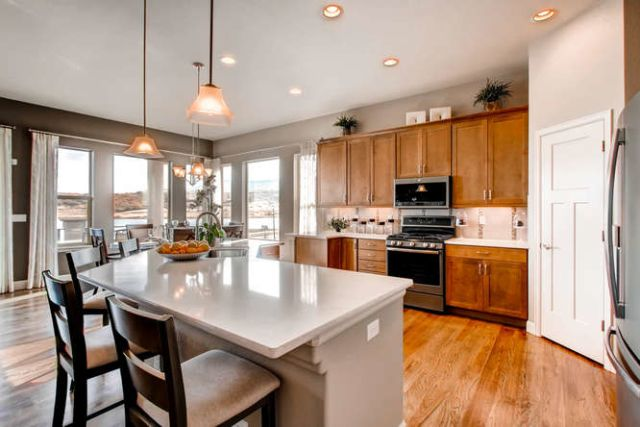 Kitchen featured in the Hillspire By Classic Homes in Colorado Springs, CO