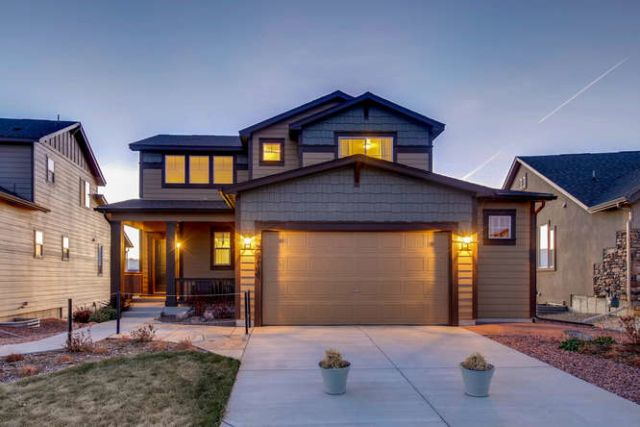 Exterior featured in the Meadow By Classic Homes in Colorado Springs, CO