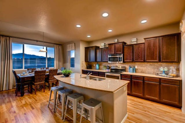 Kitchen featured in the Meadow By Classic Homes in Colorado Springs, CO