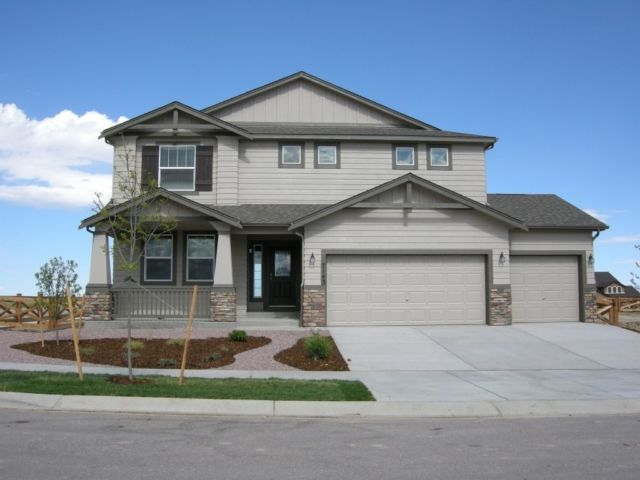 Exterior featured in the Monarch By Classic Homes in Colorado Springs, CO