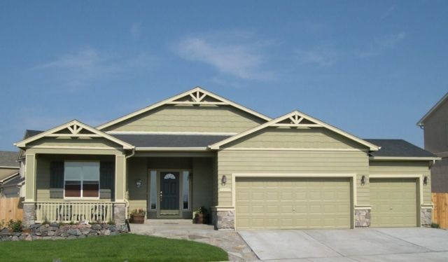 Exterior featured in the Rosewood By Classic Homes in Colorado Springs, CO