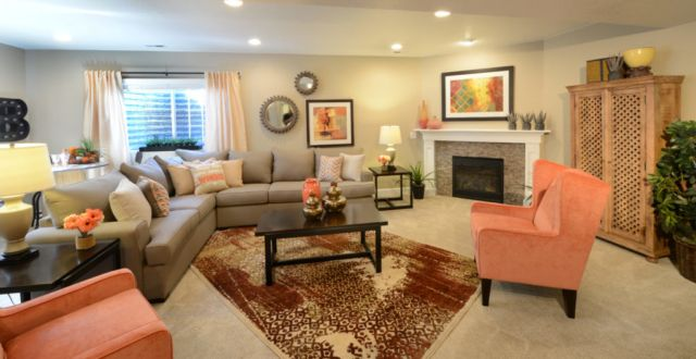 Living Area featured in the Summit By Classic Homes in Colorado Springs, CO