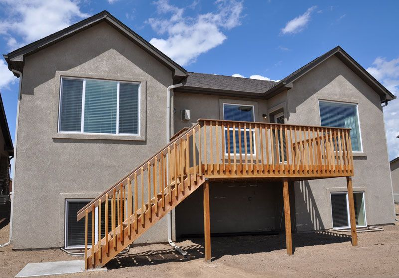 Exterior featured in the Savannah By Classic Homes in Colorado Springs, CO