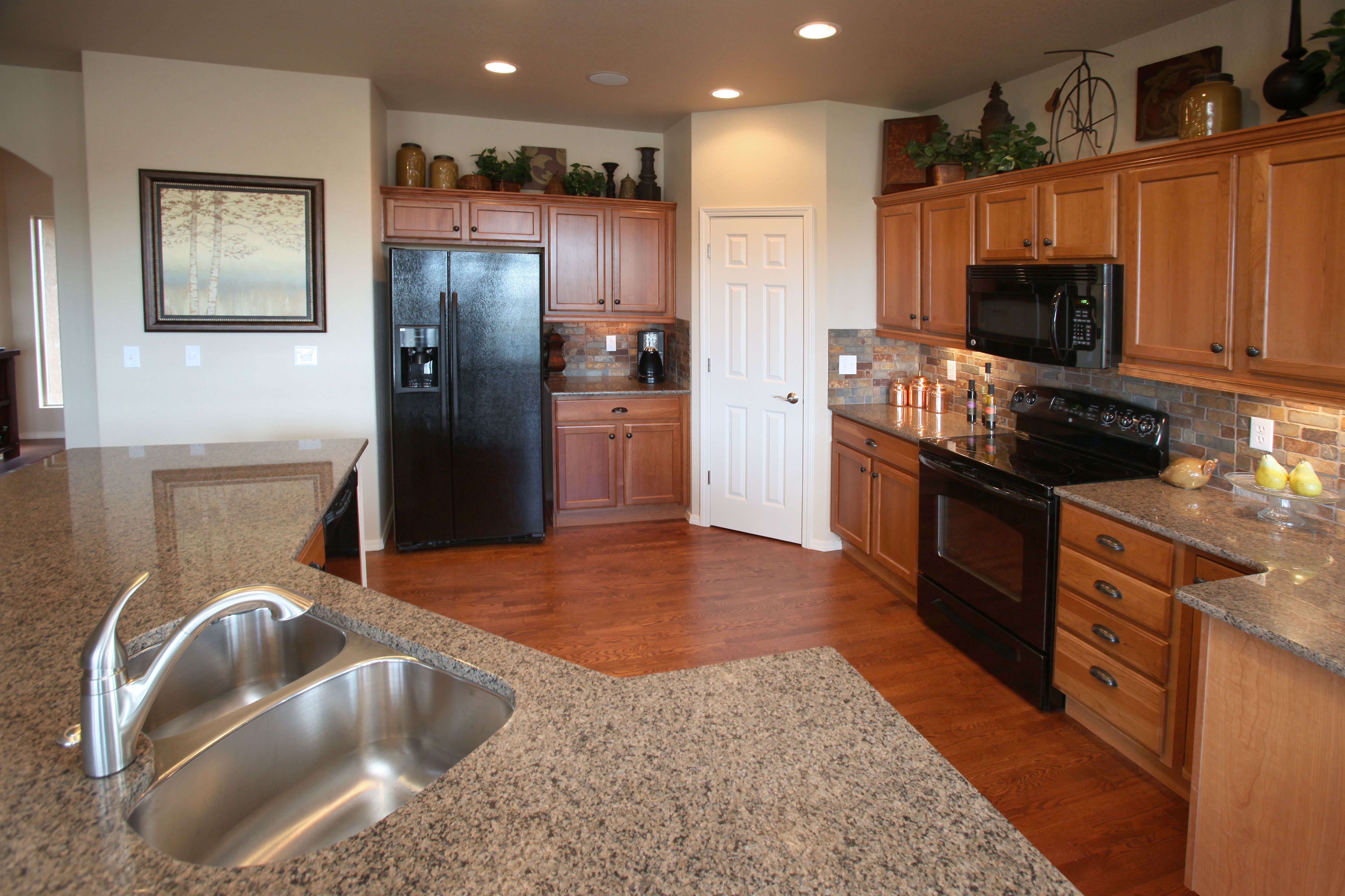 Kitchen featured in the Rosewood By Classic Homes in Colorado Springs, CO