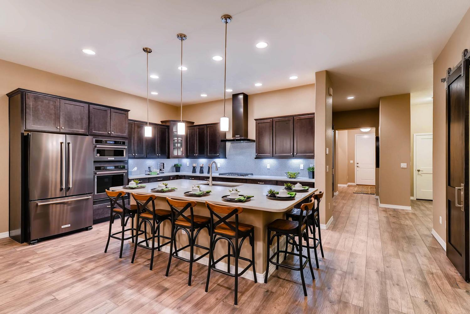 Kitchen featured in the Daybreak By Classic Homes in Colorado Springs, CO