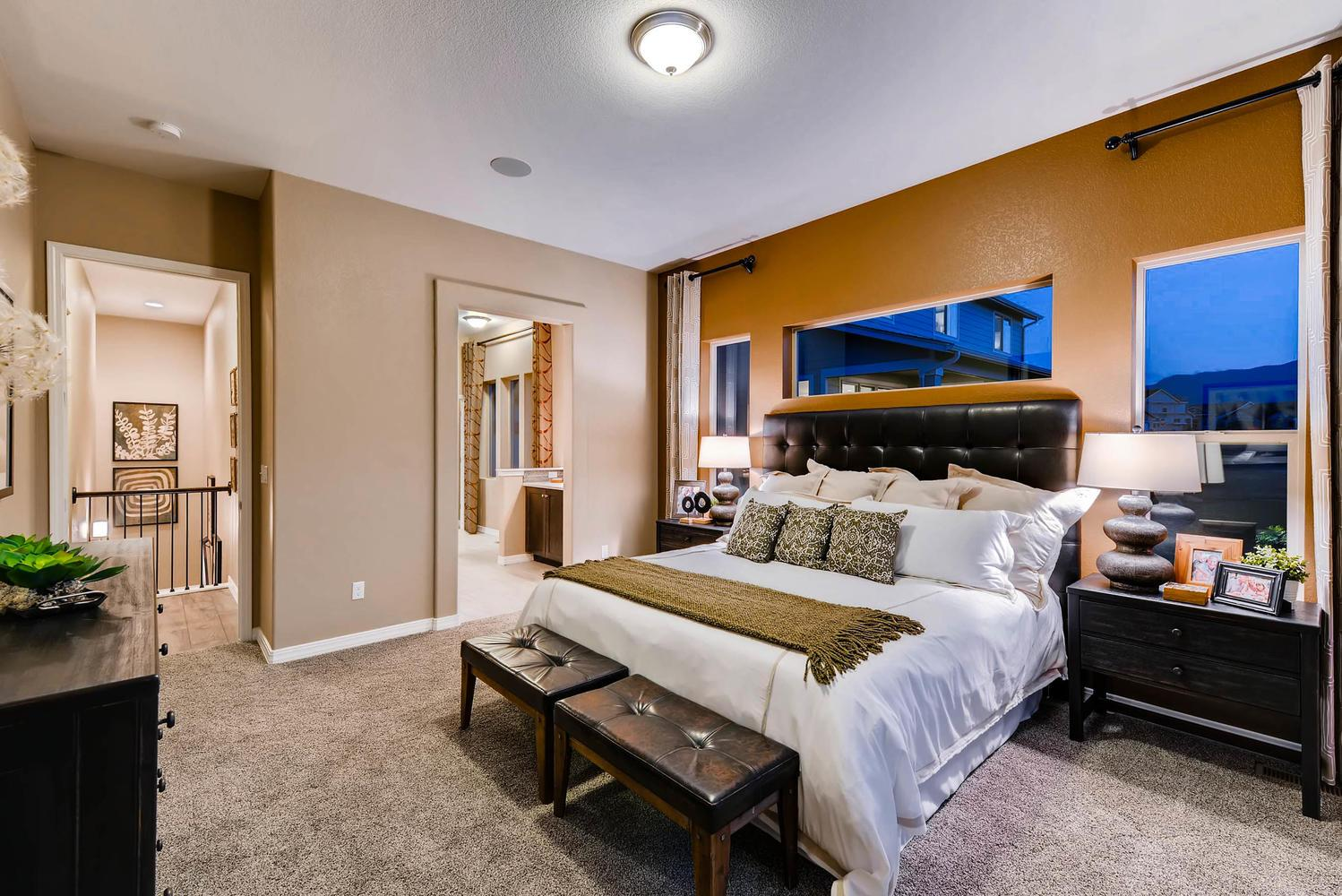 Bedroom featured in the Daybreak By Classic Homes in Colorado Springs, CO