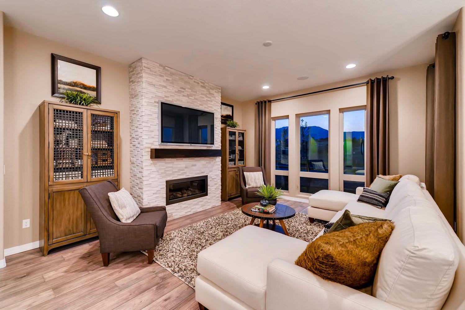 Living Area featured in the Daybreak By Classic Homes in Colorado Springs, CO