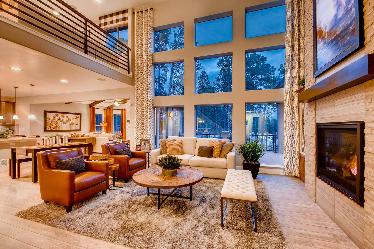 Living Area featured in the Dynasty By Classic Homes in Colorado Springs, CO