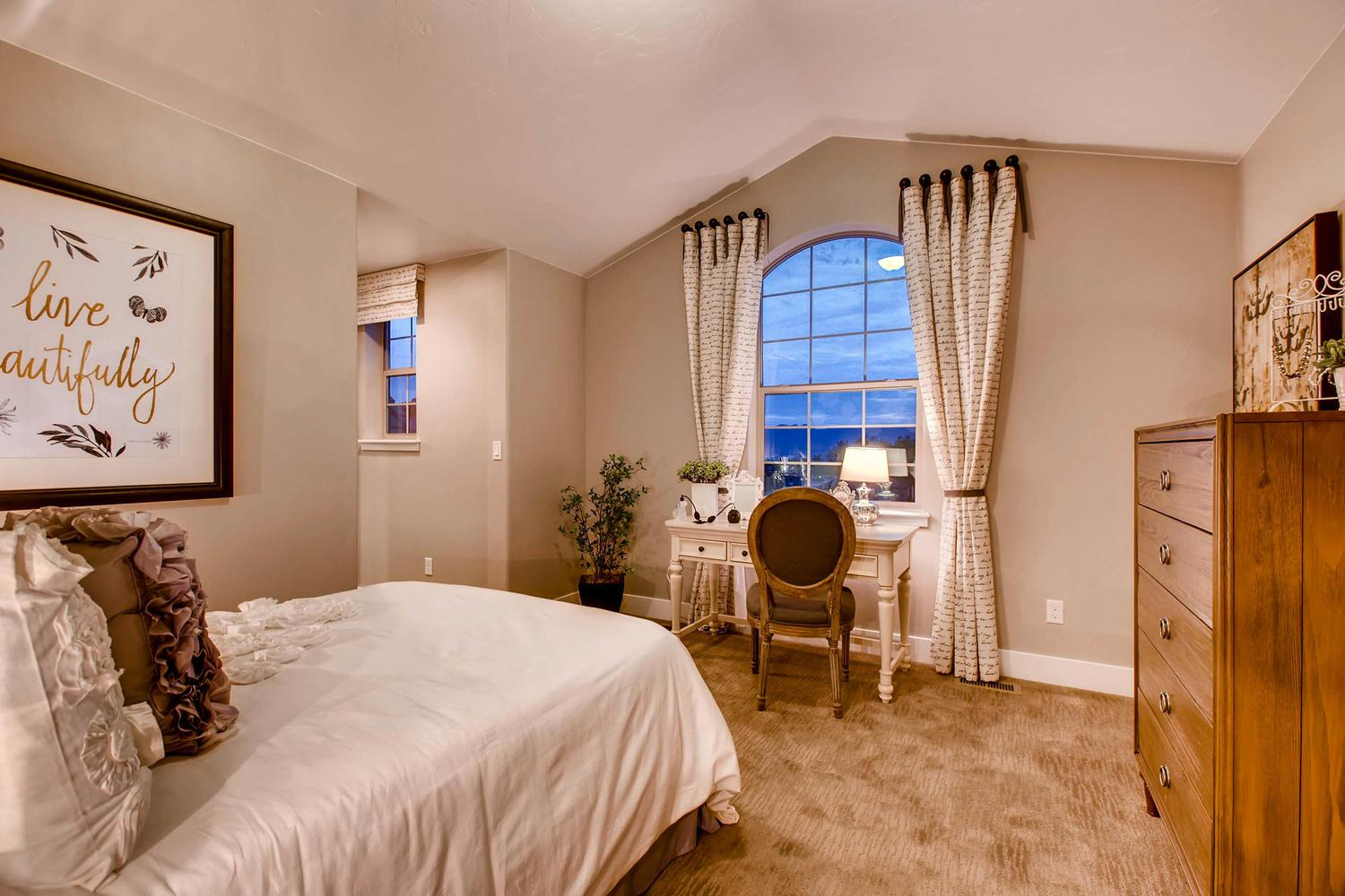 Bedroom featured in the Dynasty By Classic Homes in Colorado Springs, CO