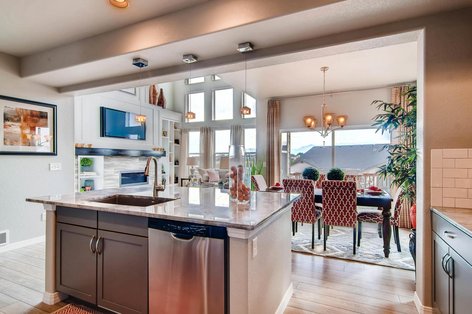Kitchen featured in the Hannah By Classic Homes in Colorado Springs, CO