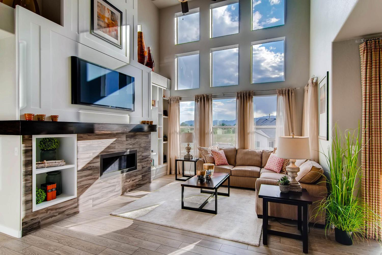Living Area featured in the Hannah By Classic Homes in Colorado Springs, CO