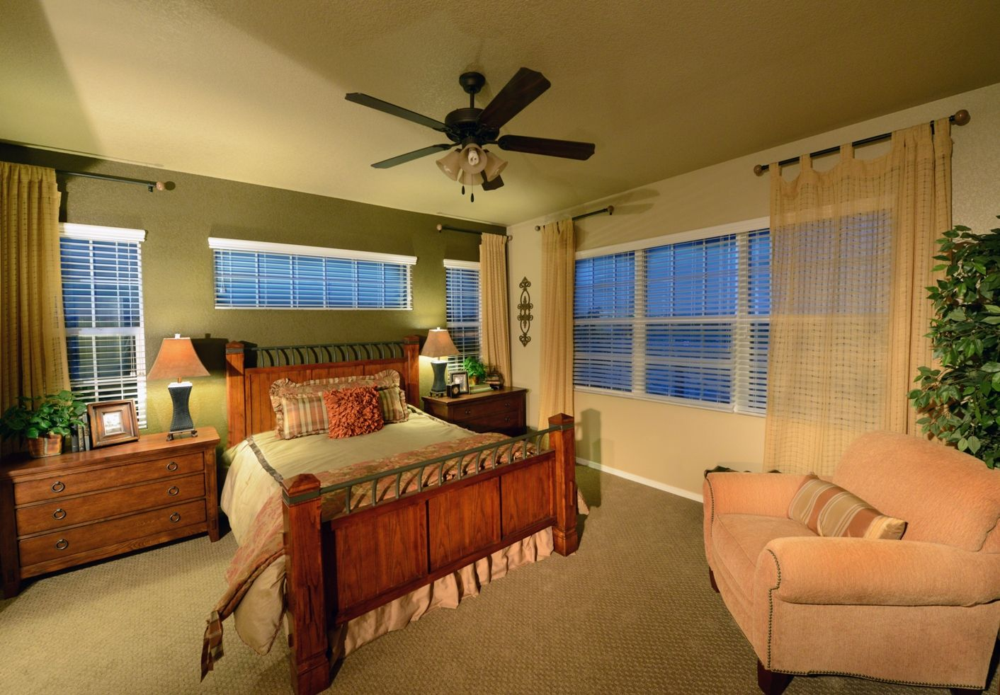Bedroom featured in the Rosewood By Classic Homes in Colorado Springs, CO