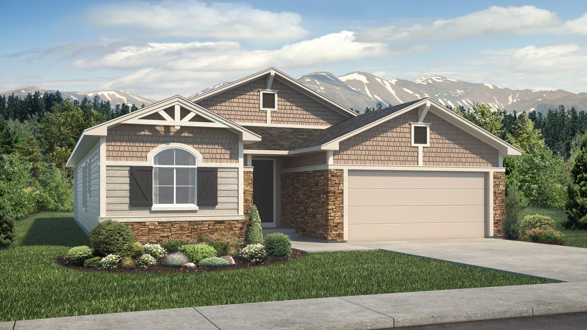 Exterior featured in the Sundance By Classic Homes in Colorado Springs, CO