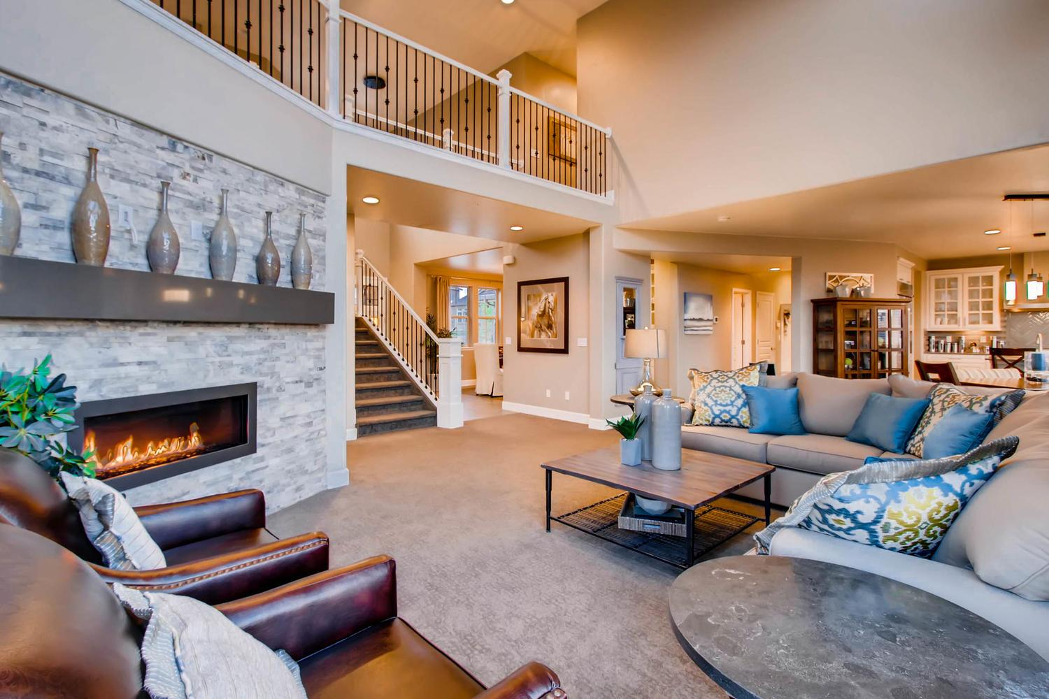 Living Area featured in the St. James By Classic Homes in Colorado Springs, CO