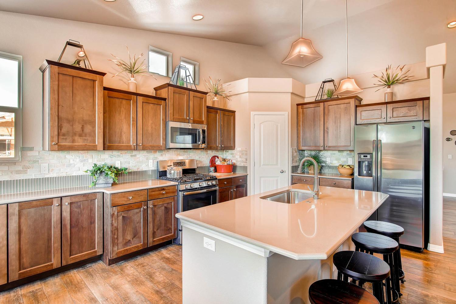 Kitchen featured in the Savannah By Classic Homes in Colorado Springs, CO