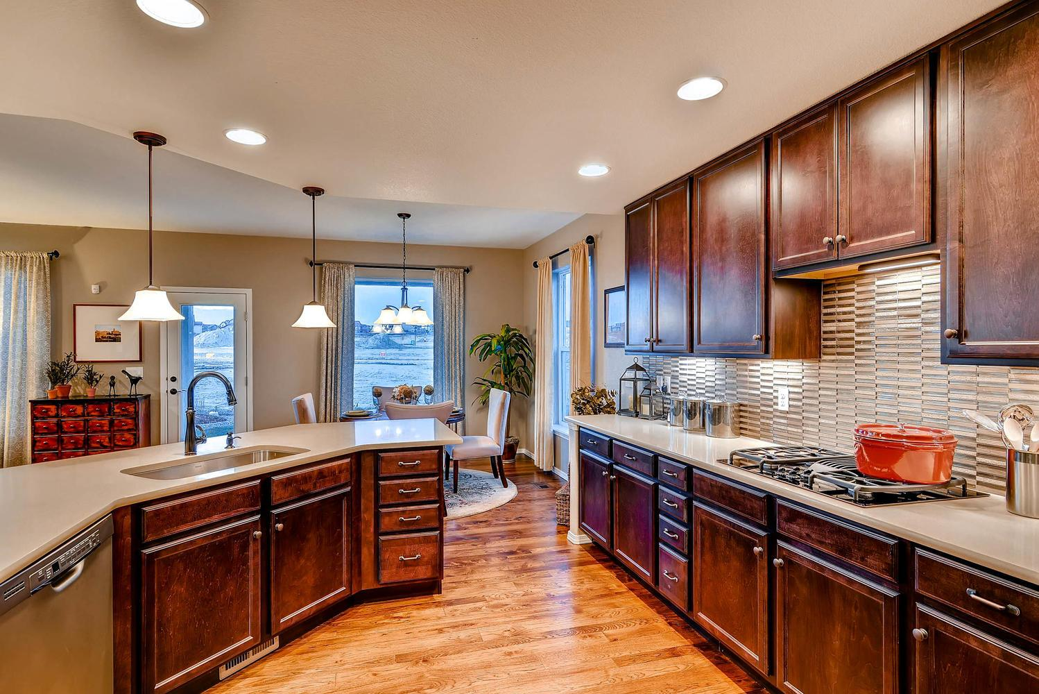 Kitchen featured in the Monarch By Classic Homes in Colorado Springs, CO