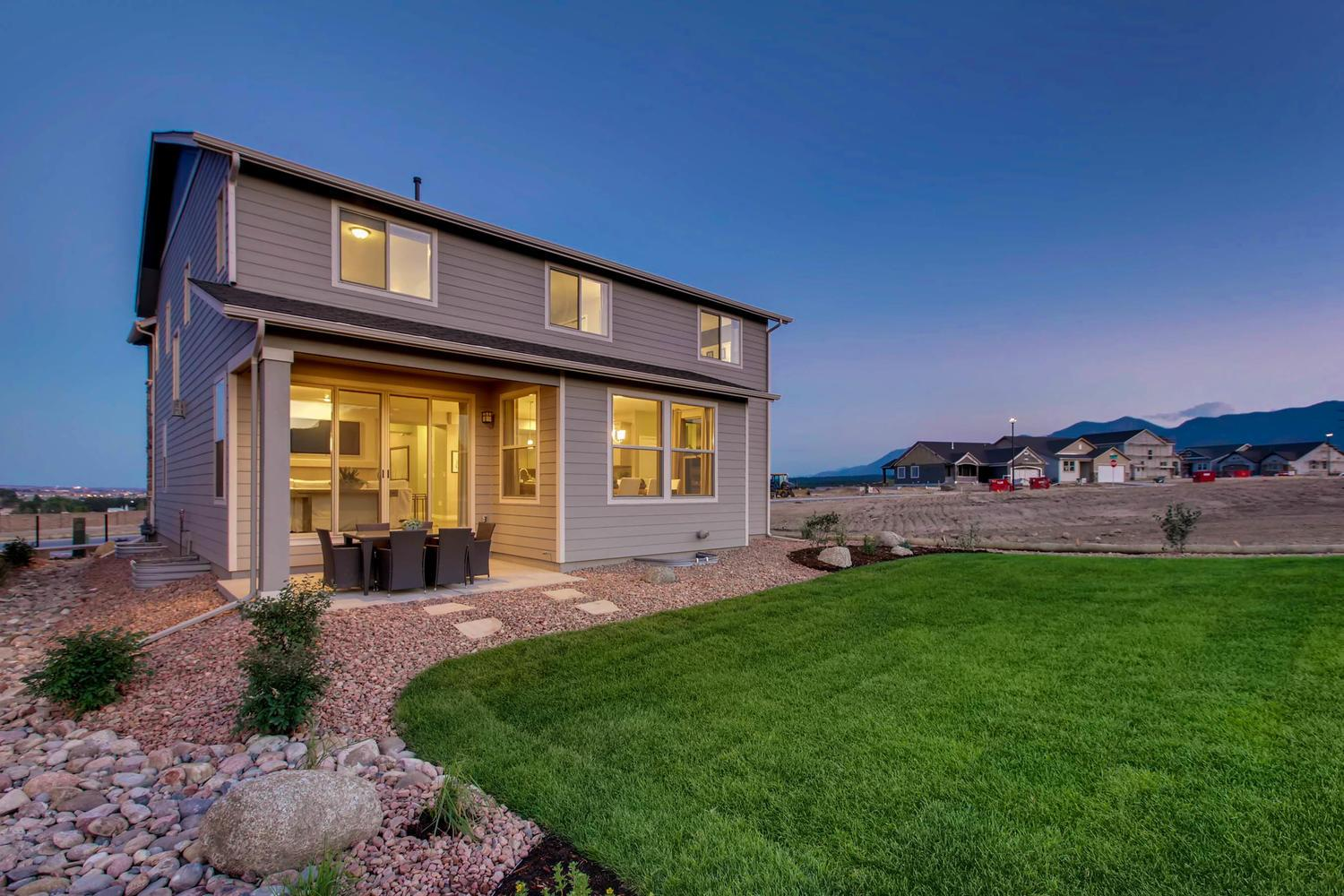 Exterior featured in the Somerset By Classic Homes in Colorado Springs, CO