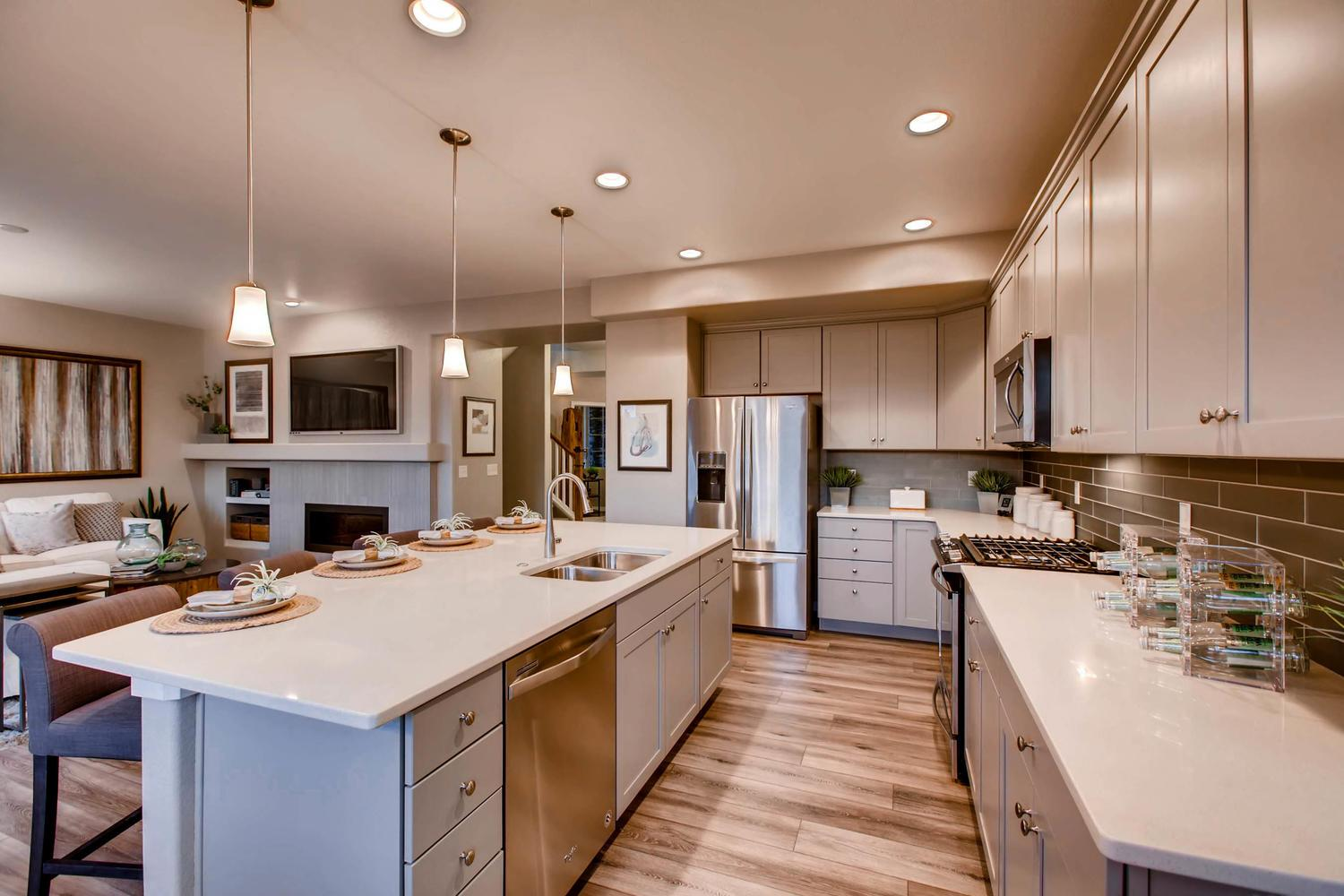 Kitchen featured in the Somerset By Classic Homes in Colorado Springs, CO