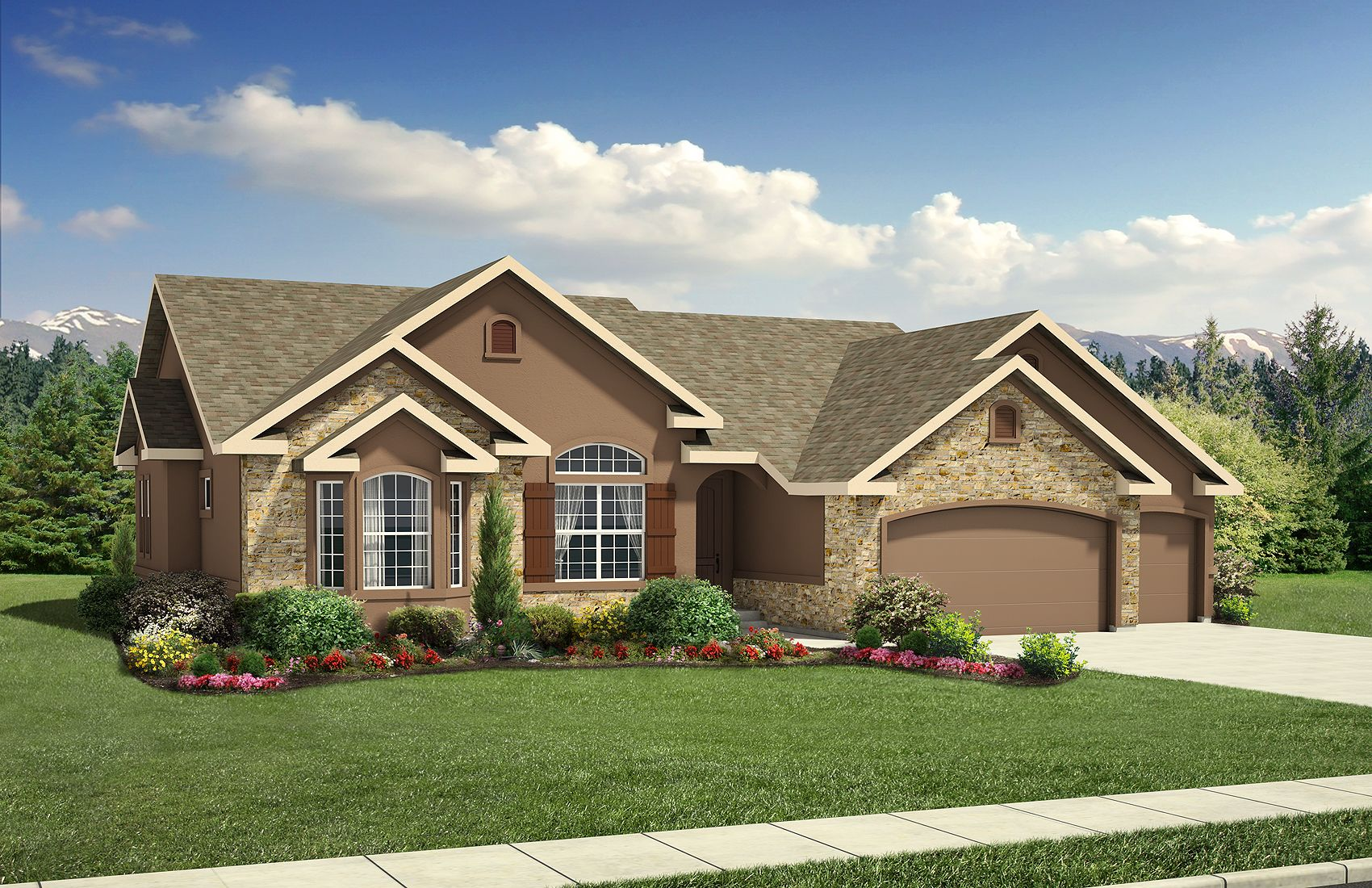 Exterior featured in the Stratford By Classic Homes in Colorado Springs, CO