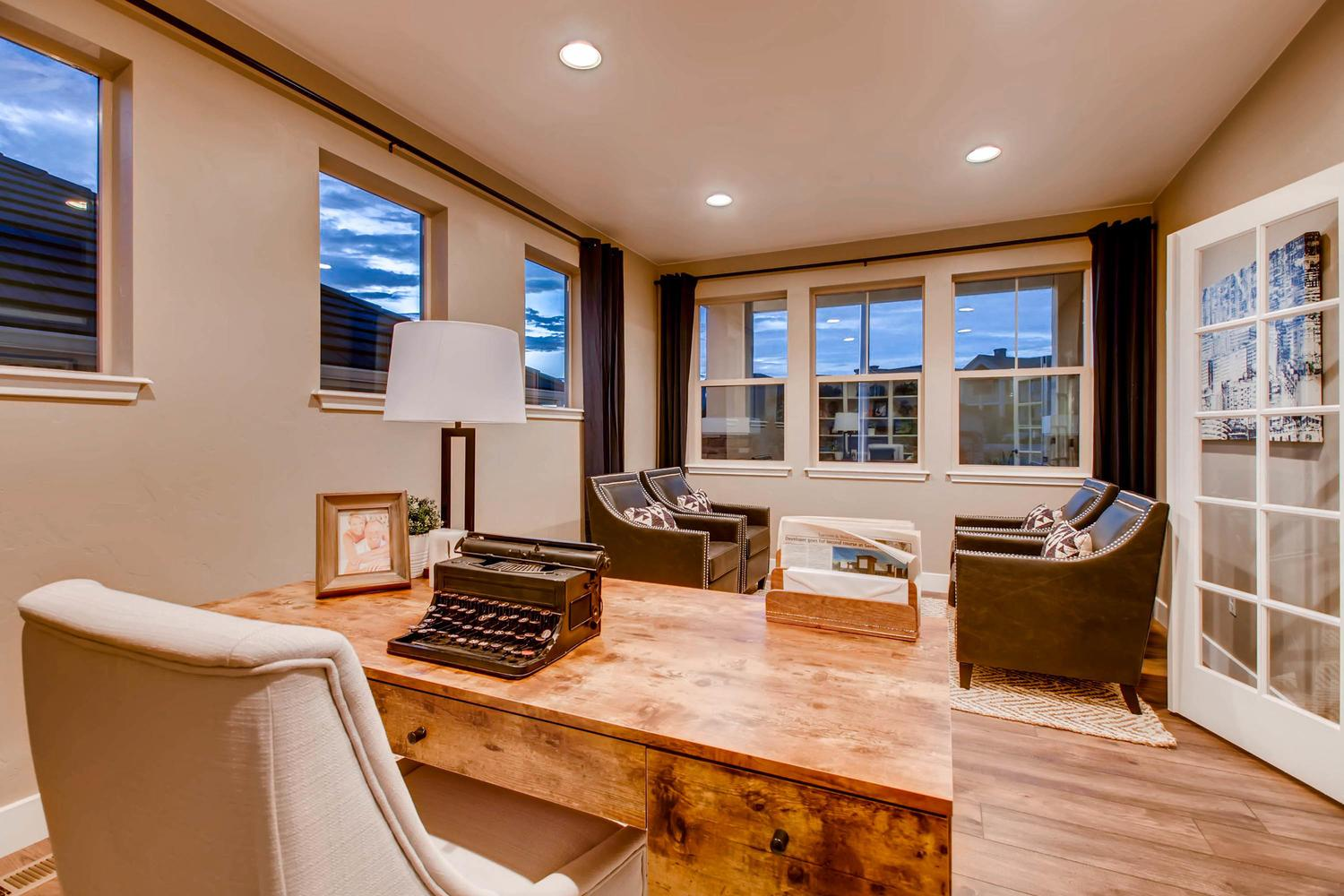 Living Area featured in the Grand Mesa By Classic Homes in Colorado Springs, CO