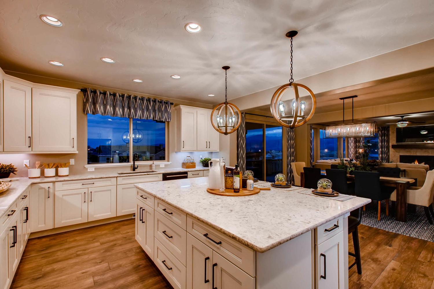 Kitchen featured in the Grand Mesa By Classic Homes in Colorado Springs, CO