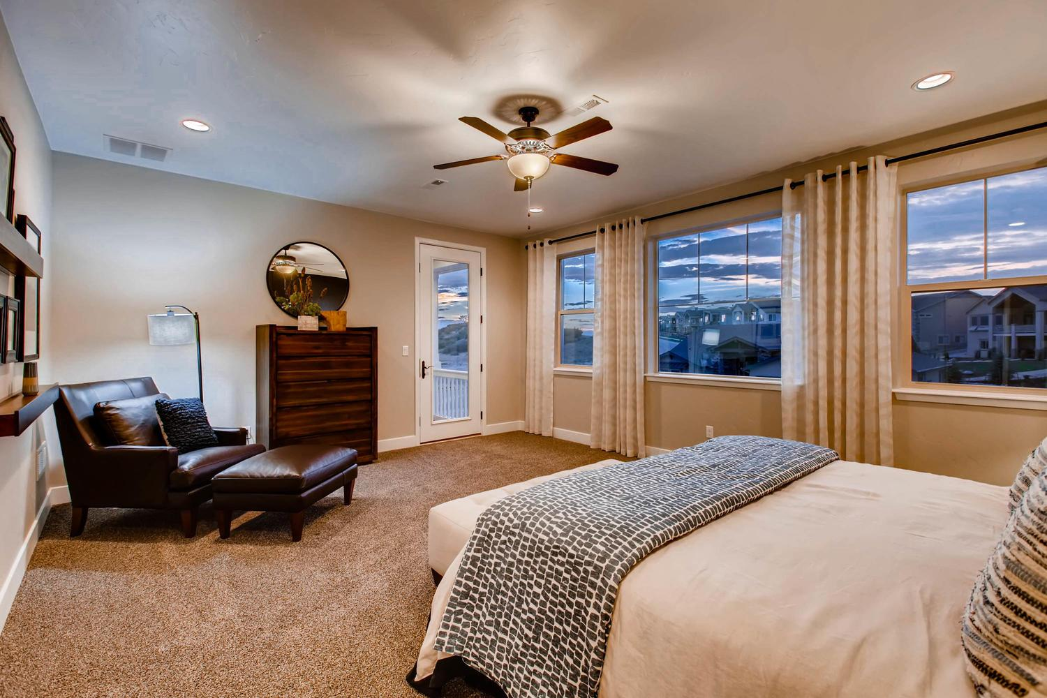 Bedroom featured in the Grand Mesa By Classic Homes in Colorado Springs, CO