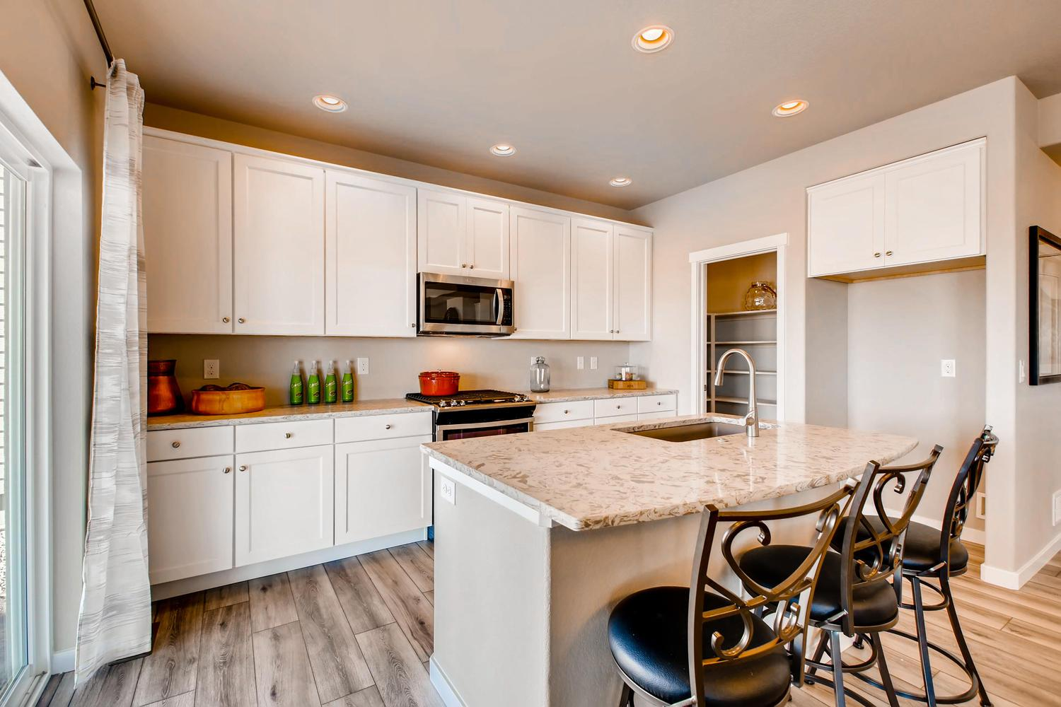 Kitchen featured in the Sierra By Classic Homes in Colorado Springs, CO