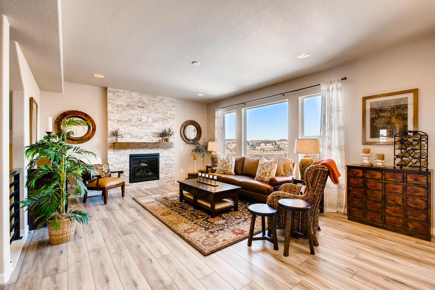 Living Area featured in the Sierra By Classic Homes in Colorado Springs, CO
