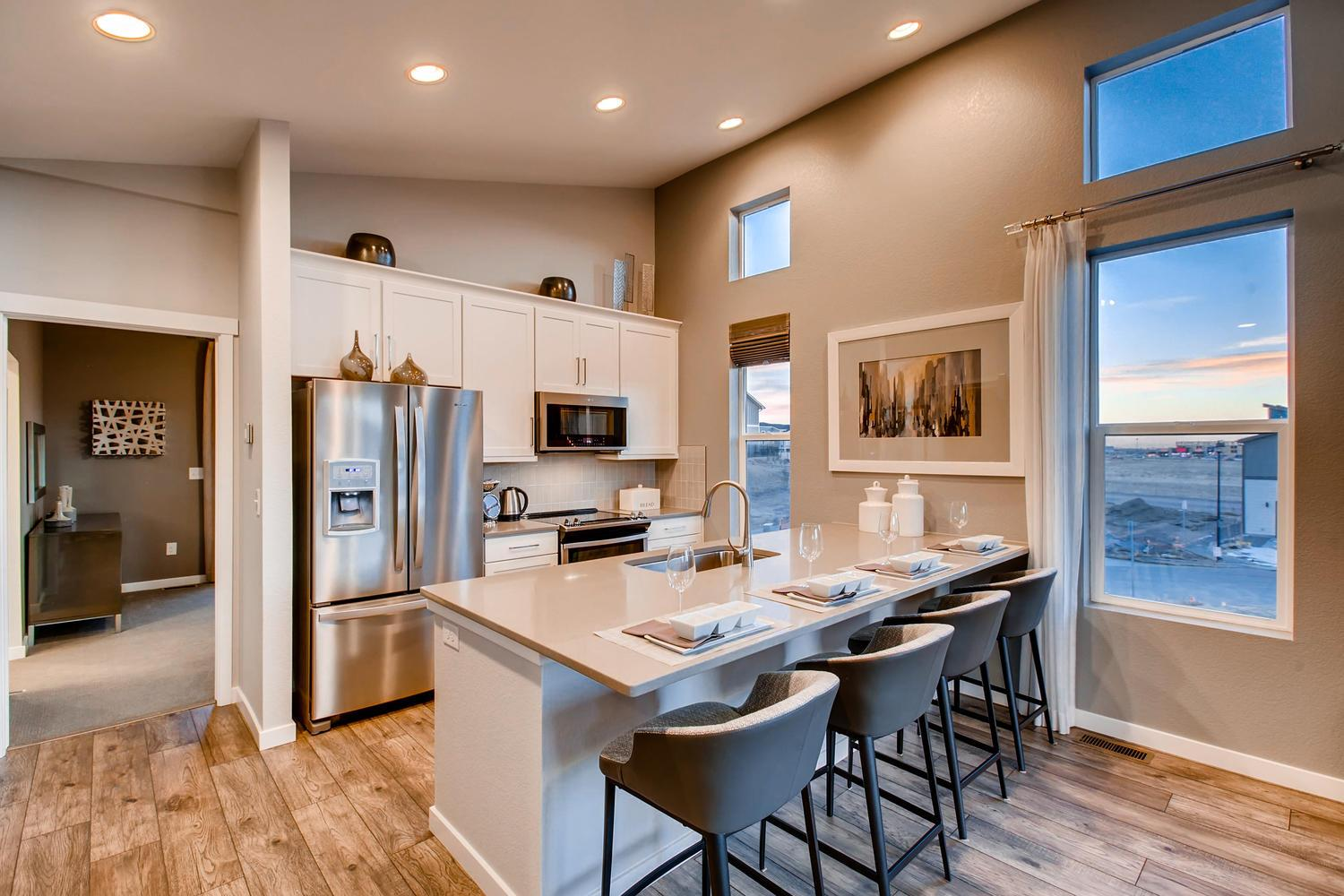 Kitchen featured in the 220 By Classic Homes in Colorado Springs, CO