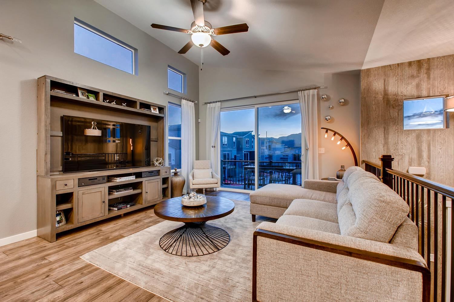 Living Area featured in the 220 By Classic Homes in Colorado Springs, CO