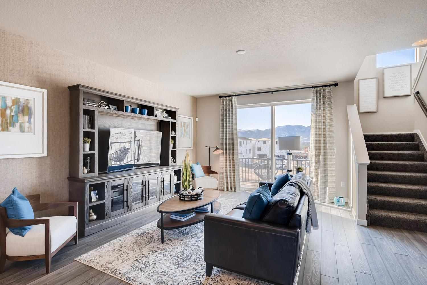 Living Area featured in the 221 By Classic Homes in Colorado Springs, CO