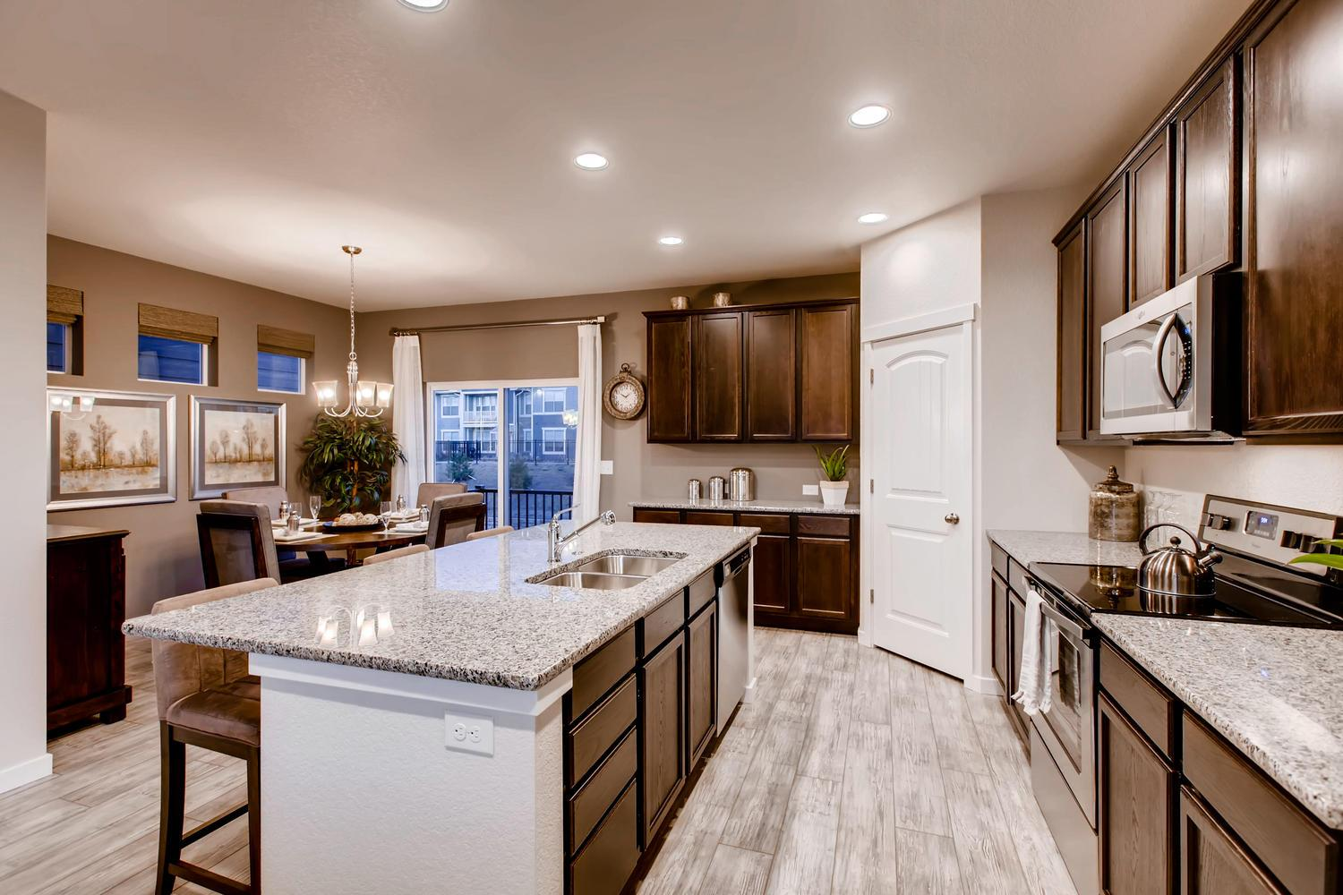 Kitchen featured in the 222 By Classic Homes in Colorado Springs, CO