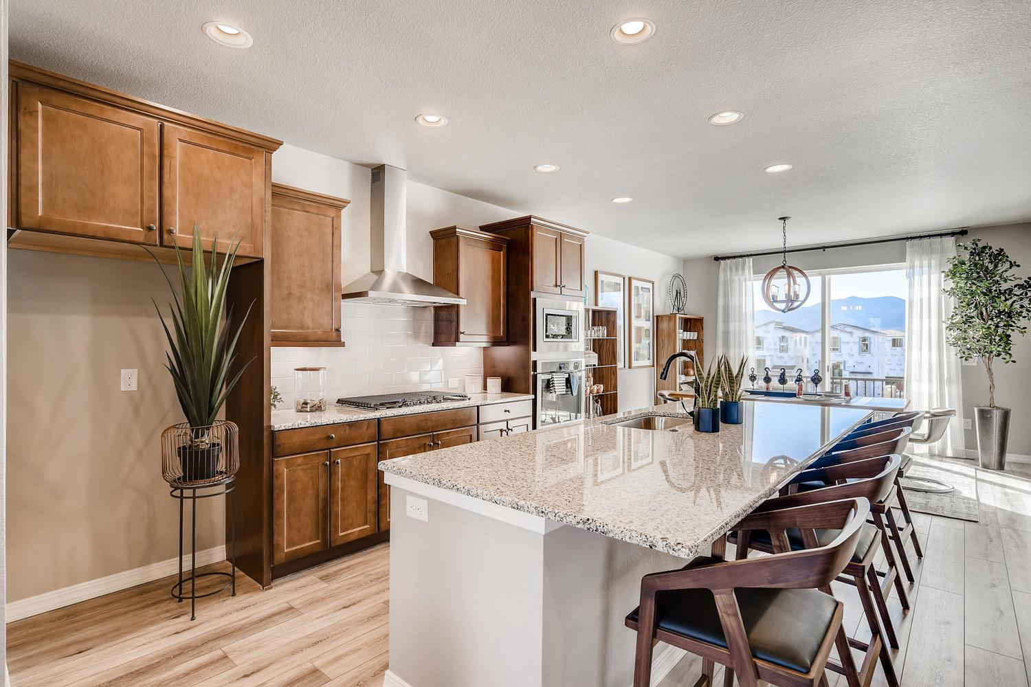 Kitchen featured in the 224 By Classic Homes in Colorado Springs, CO
