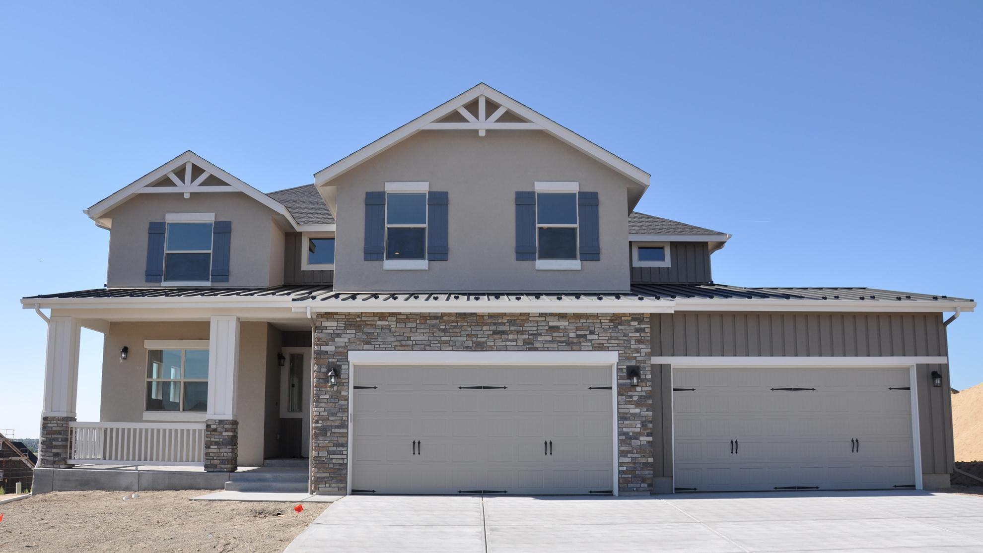 Exterior featured in the Heritage By Classic Homes in Colorado Springs, CO