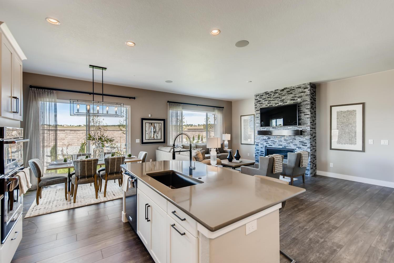 Living Area featured in the Daylight By Classic Homes in Colorado Springs, CO
